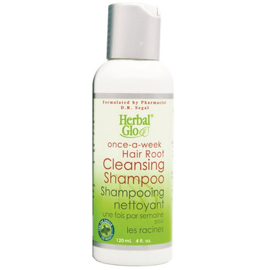 Herbal Glo Once-a-Week Hair Root Cleansing Shampoo