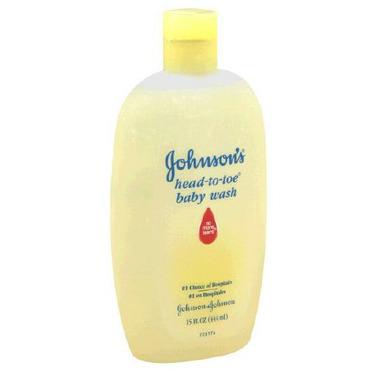 Johnson & Johnson Head-to-Toe Baby Body Wash