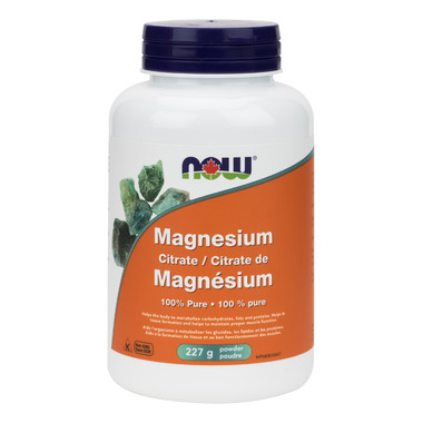 NOW Foods Magnesium Citrate Powder