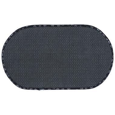 Envision Home Pet Bowl Mat Standard Black