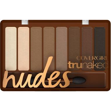 CoverGirl Trunaked Eyeshadow Palette in Nudes