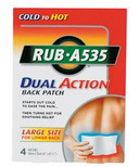 Rub A535 Dual Action Patch