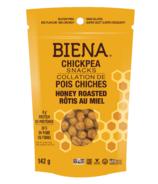 Biena Foods Chickpea Snacks Honey Roasted
