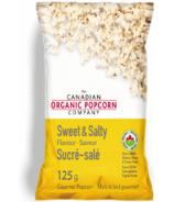 The Canadian Organic Popcorn Company Sweet & Salty Popcorn