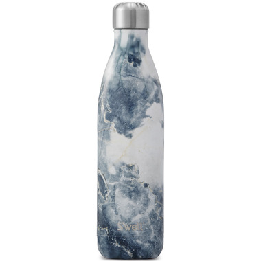 S\'well Elements Collection Stainless Steel Water Bottle Blue Granite