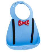Make My Day Baby Bib Little Scholar Blue