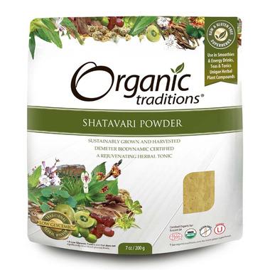 Organic Traditions Shatavari Powder