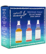 Captain Blankenship Mermaid Magic Sea Salt Shimmer Spray Set