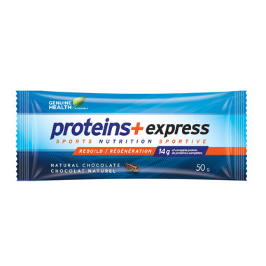 Genuine Health Proteins+ Express Protein Bars