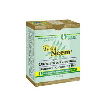 TheraNeem Oatmeal & Lavender Botanical Cleansing Bar
