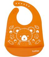 Kushies Silicatch Bib with Pocket
