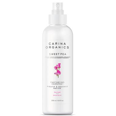 Carina Organics Fast Drying Hairspray Sweet Pea