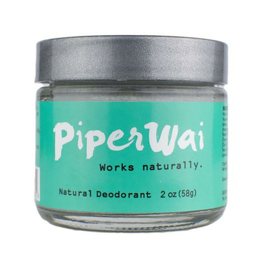 PiperWai Activated Charcoal Natural Deodorant