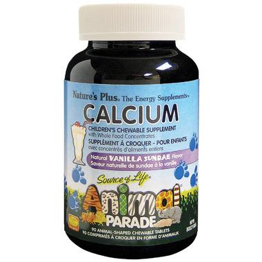Nature\'s Plus Animal Parade Children\'s Chewable Calcium