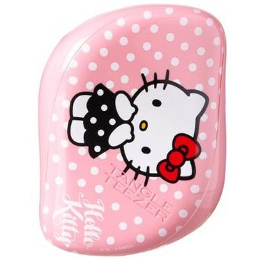 Tangle Teezer Compact Styler Detangling Hairbrush Hello Kitty Pink