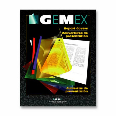 Gemex Vinyl Report Covers
