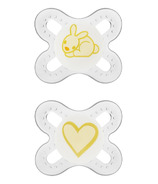 Mam Silicone Start Pacifier Yellow