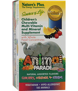 Nature's Plus Animal Parade Children's Chewable Multivitamins