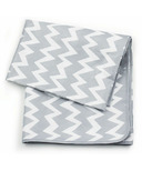 Bumkins Waterproof Splat Mat Grey Chevron