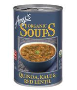 Amy's Organic Quinoa, Kale & Red Lentil Soup
