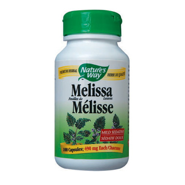 Nature\'s Way Melissa Leaves Mild Sedative