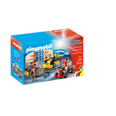 Playmobil Go- Kart Garage