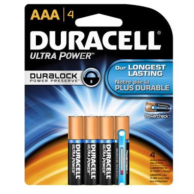 Duracell Ultra AAA Alkaline Batteries