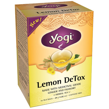 Yogi Tea Lemon DeTox Tea