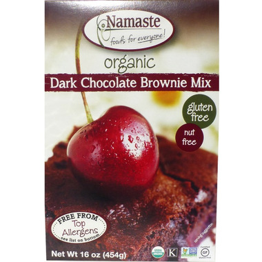 Namaste Foods Organic Dark Chocolate Brownie Mix