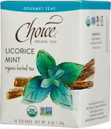Choice Organic Teas Licorice Mint Tea