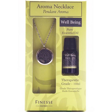 Finesse Home Well Being Aroma Pendant Set