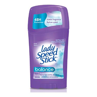 Lady Speed Stick Balance Spring Rain Antiperspirant
