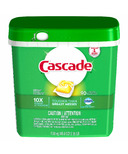 Cascade ActionPacs Dishwasher Detergent Lemon Scent