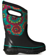 Bogs Classic Kids' Insulated Boots Pansies