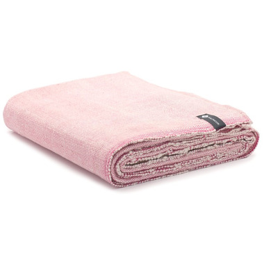 Halfmoon Cotton Yoga Blanket Berry Weave