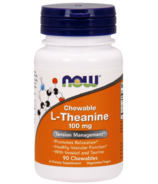 NOW Foods L-Theanine Chewable