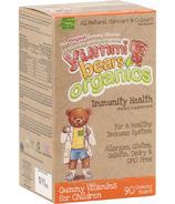 Yummi Bears Organics Immunity Health