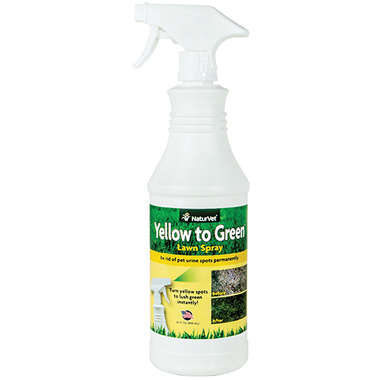 Naturvet Yellow to Green Lawn Spray