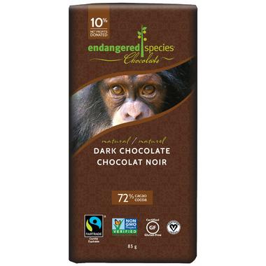 Endangered Species Natural Dark Chocolate Bar