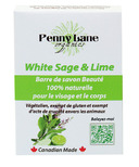 Penny Lane Organics 100% Natural Beauty Bar White Sage and Lime