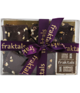 Fraktals Handmade Dark Chocolate Cashew Buttercrunch Gift Box