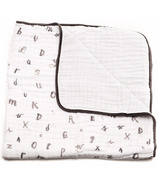 Little Unicorn Cotton Muslin Quilt Hello Alphabet
