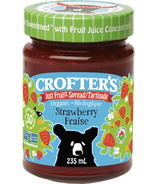 Crofter's Organic Strawberry Just Fruit Spread