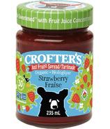 Crofter's Organic Strawberry Just Fruit Spread