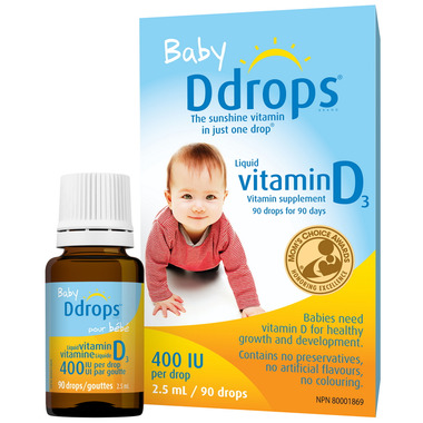 Buy Baby Ddrops Liquid Vitamin D3 At Well Ca Free