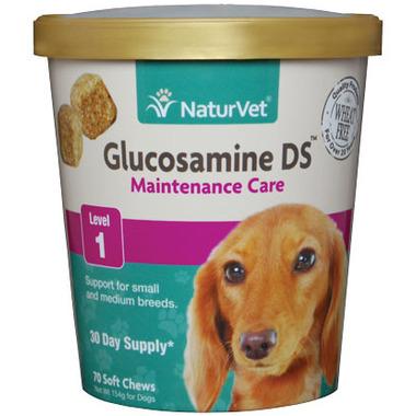 Naturvet Glucosamine DS Maintenance Soft Chews
