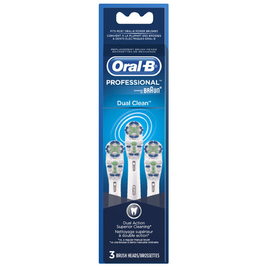 Oral-B Professional Dual Clean Brush Heads