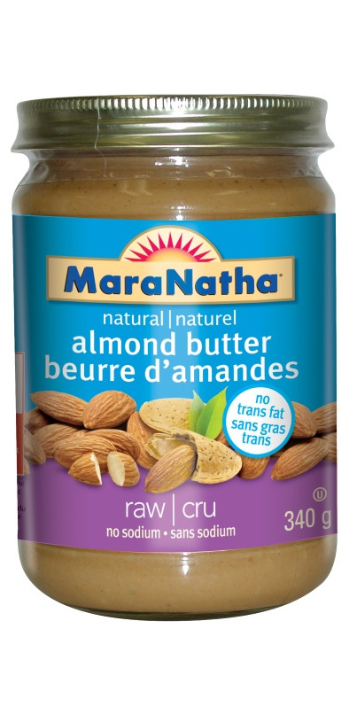 Maranatha organic almond butter