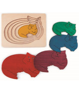 Hape Five Cats Puzzle