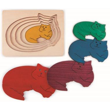 Hape Five Cats Puzzle